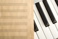 Free Writing Music Stock Images - 14280134