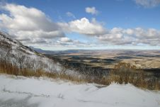 Free Snow Scene In Mesa Verde National Park Royalty Free Stock Photos - 14280158