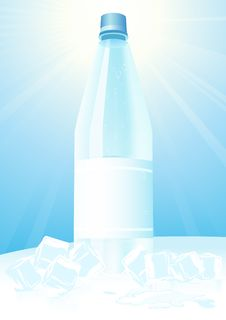 Free Mineral Water And Ice Stock Photos - 14280753