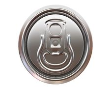 Free Beer Can Top View Stock Image - 14281581