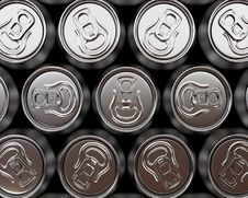 Free Beer Cans Royalty Free Stock Photo - 14281635