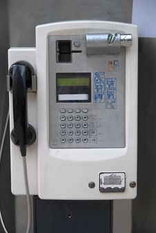 Free Public Phone Royalty Free Stock Photos - 14281758
