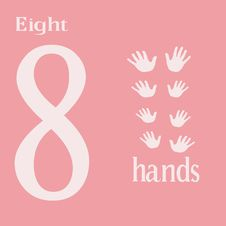 Free Eight Hands Stock Images - 14281824