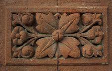 Free Ornate Brick Wall Detail Royalty Free Stock Image - 14281856