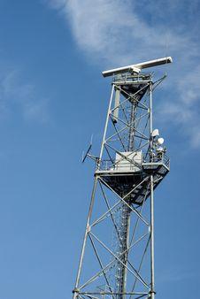 Technical Radar Royalty Free Stock Image