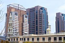 Free Shanghai Modern Buildings Royalty Free Stock Photo - 14282665