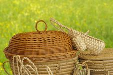 Free Basketry On Nature Royalty Free Stock Image - 14282976