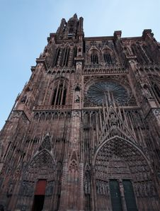 Strasbourg S Cathedral Royalty Free Stock Photo