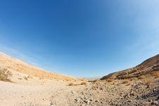 Free Desert Landscape Fisheye View Stock Image - 14283841