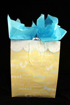 Free Gift Box For A Boy Stock Images - 14283974