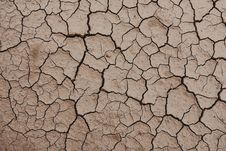 Free Cracked Desert Background Texture Stock Photography - 14284092
