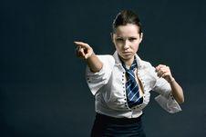 Free Woman With Attitude Royalty Free Stock Photo - 14284375