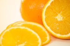 Free Sliced Fresh Orange Royalty Free Stock Image - 14284536
