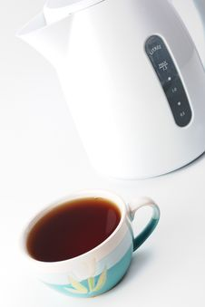 Free Kettle With Cup Stock Photos - 14284573