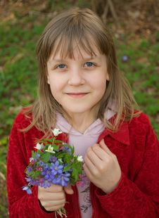 Free Spring Portrait Stock Photos - 14285303
