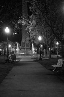 Free City Park Sidewalk Stock Photography - 14285352