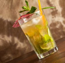 Mojito Cocktail Stock Photos