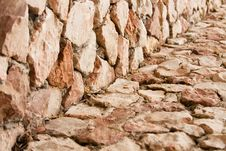 Free Red Brick Wall: Can Be Used As Background Royalty Free Stock Photos - 14286218