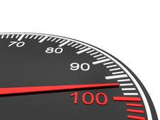 Free Speedometer Scale Stock Photo - 14286330