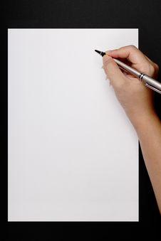 Free Writing Royalty Free Stock Photo - 14286545