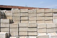 Free Cement Block Royalty Free Stock Image - 14287706