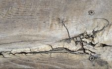 Free Cracked Wood Texture Stock Image - 14288221