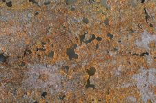 Free Rusty Texture With Holes Royalty Free Stock Photography - 14288287