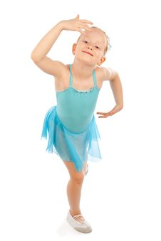 Free Little Ballerina Pose Stock Photos - 14288363