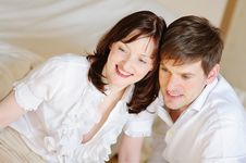 Young Couple Close-up Stock Images