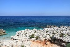 Free Rock And Sea Zingaro Sicily Italy Stock Photos - 14288433