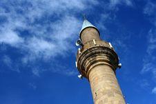 Mosque Minaret Royalty Free Stock Image