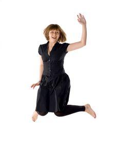 Free Woman Dancing In Studio Stock Photo - 14288660