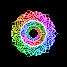 Free Rainbow Color Wheel Stock Images - 14288704