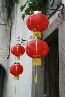 Free Chinese Lantern Royalty Free Stock Photos - 14288768