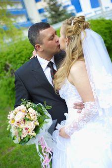 Free Wedding Wife And Husband Stock Image - 14288931
