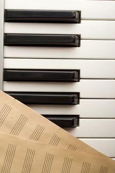 Free Writing Music Stock Photography - 14288962