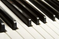 Free Piano Keys Royalty Free Stock Photography - 14289077