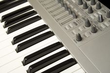Free Synthesizer Close-up Stock Image - 14289111