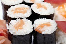 Free Sushi Set Stock Photography - 14289382