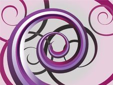 Free Background With Spiral Stock Photos - 14289403