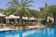 Beautiful Tropical Swimming Pool.Thailand. Stock Image