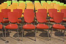 Free Chair Arrangement Stock Images - 14289724
