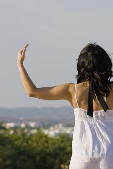 Free Practicing Yoga Royalty Free Stock Image - 14289746