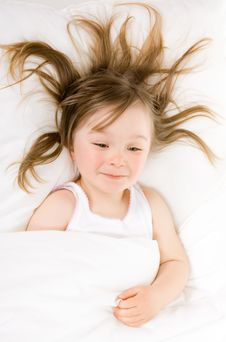 Free Little Girl Sleeping Royalty Free Stock Photos - 14289988