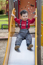 Free Child On A Slide Royalty Free Stock Images - 14294349