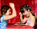 Free Two Lovely Teen Girls Royalty Free Stock Photos - 14297468