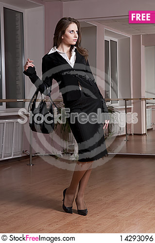 Free Business Girl Royalty Free Stock Image - 14293096