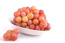 Free Red Grapes Isolated Royalty Free Stock Image - 14290986
