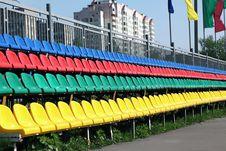 Free Stadium Seats Royalty Free Stock Photography - 14291227
