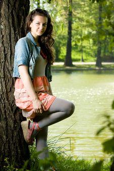Free Lovely Retro Girl Royalty Free Stock Photography - 14291407